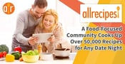Allrecipes: A Food-Focused Community Cooks Up Over 50,000 Recipes for Any Date Night