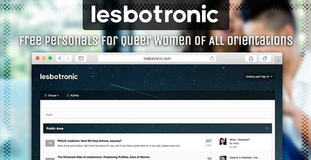 Lesbotronic Free Personals For Queer Women