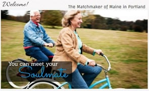 Screenshot of The Matchmaker of Maine homepage