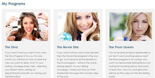 Screenshot of Joann Cohen's makeover programs