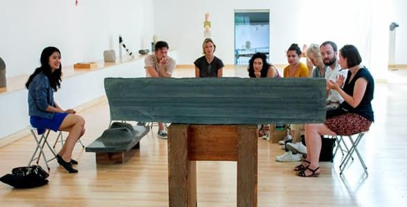 Photo of The Center of Attention session at The Noguchi Museum