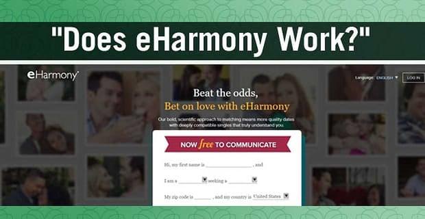 """""""Does eharmony Work?"""" — 7 Impressive Facts & Figures"""