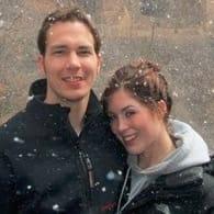 Photo of Rachael and Nick, an eHarmony success story