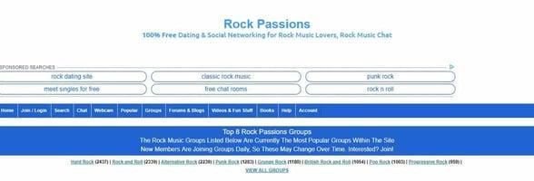 Screenshot of Rock Passions