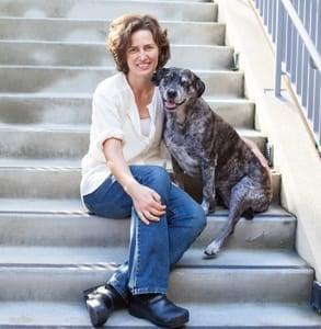 Photo of Dr. Jennifer Scarlett, President of the SF SPCA.