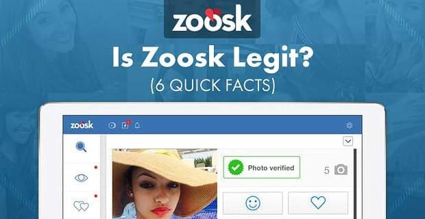 Is Zoosk Legit? — (6 Quick Facts)