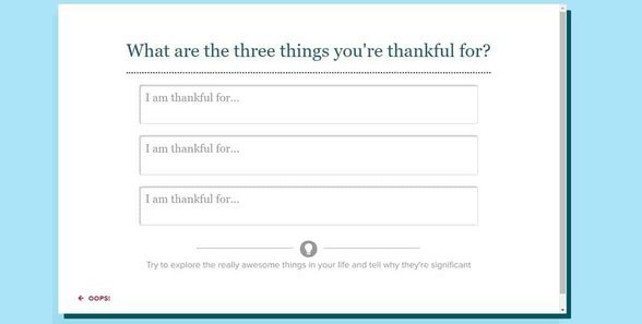 Screenshot of eharmony's question