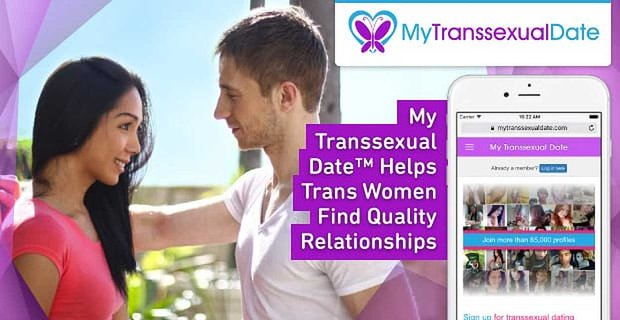 My Transsexual Date Helps Trans Women Find Quality Relationships