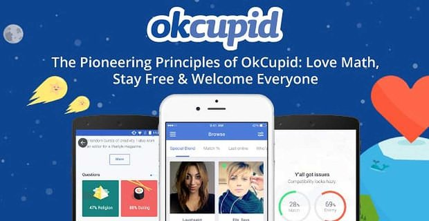 OkCupid's Pioneering Business Principles: Love Math, Stay Forever Free & Welcome Everyone