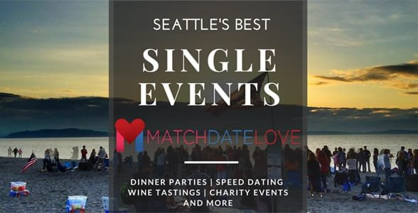 Screenshot of Match Date Love's singles events page