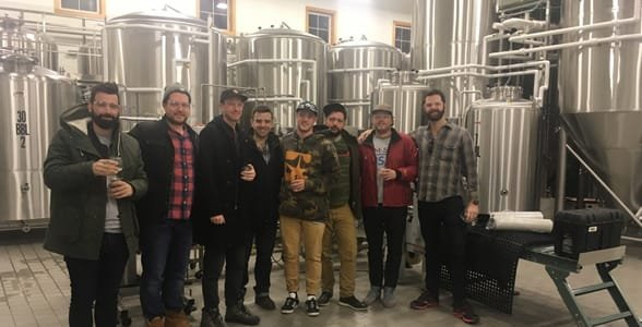 Photo of the BeerMenus team