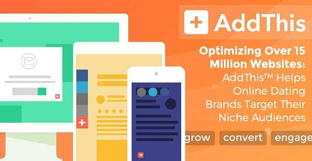 Optimizing Over 15 Million Websites — AddThis™ Helps Online Dating Brands Target Their Niche Audiences