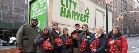 Photo of City Harvest volunteers