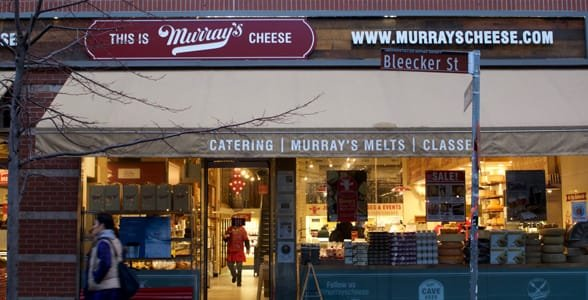 Photo of the Murray's Cheese storefront