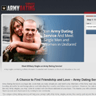 Army Dating Service