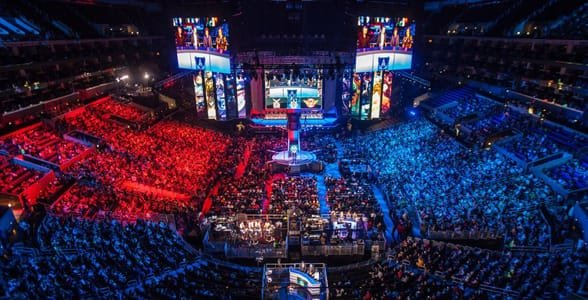 Photo of the 2016 League of Legends World Championship