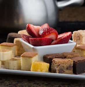 Photo of The Melting Pot's strawberries, cakes, and brownies
