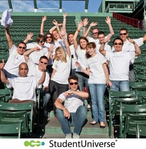 Photo of the StudentUniverse team