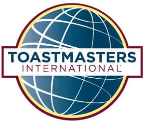 Photo of the Toastmasters logo