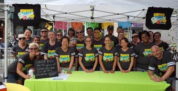 Photo of the GrowNYC staff