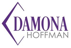 Photo of Damona Hoffman's logo