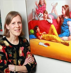Photo of Ann M. Martin, author of The Baby-Sitters Club