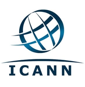 Photo of the ICANN logo