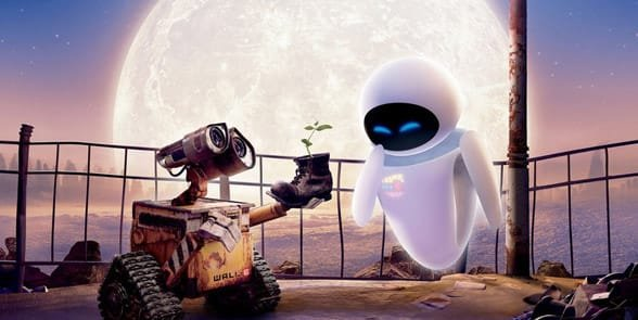 Photo of Wall-E and his girlfriend