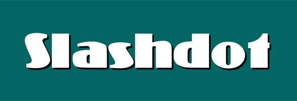 Photo of the Slashdot logo