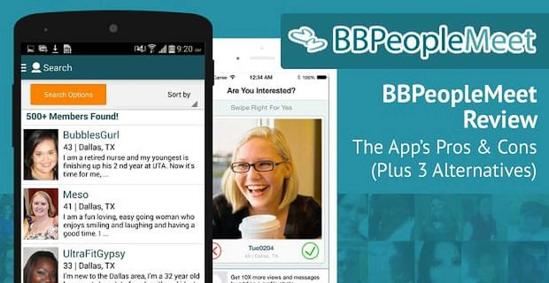 """""""BBPeopleMeet Review"""" — The App's Pros & Cons (Plus 3 Alternatives)"""
