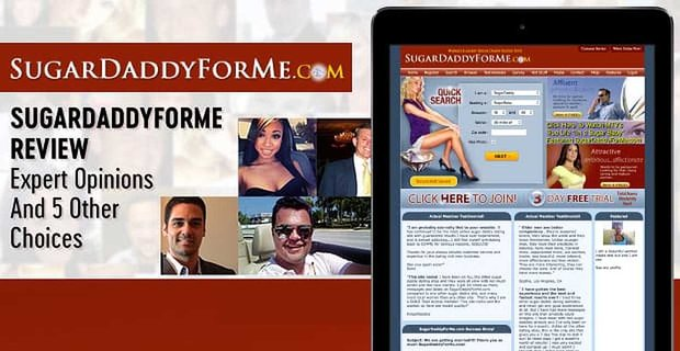 """""""SugarDaddyForMe Review"""" — Expert Opinions (And 5 Other Choices)"""