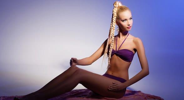 Photo of a woman who looks like Barbie