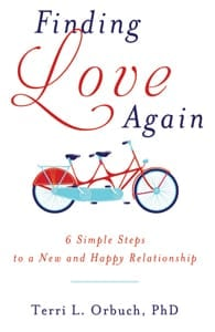 The cover of Finding Love Again by Terri Orbuch