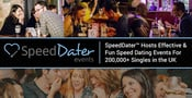 SpeedDater™ Hosts Effective & Fun Speed Dating Events For 200,000+ Singles in the UK