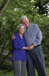 Photo of Pat and Marion Dugan, Founders of Charity Navigator