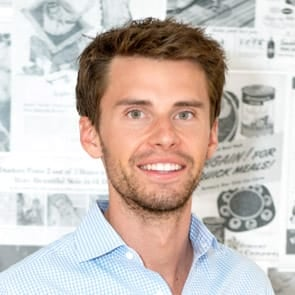 Photo of Justin McLeod, CEO of Hinge