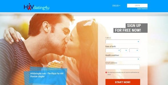 Screenshot of HIVDating4u.com