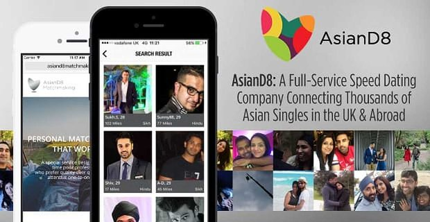 Asiand8 Speed Dating Company Connects Thousands Of Asian Singles