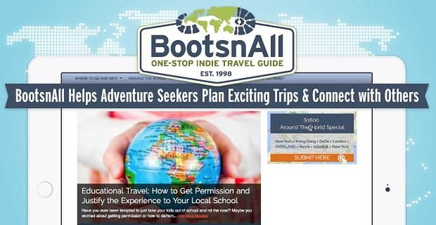 Bootsnall Helps Adventure Seekers Plan Exciting Trips And Connect With Others