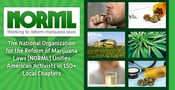 The National Organization for the Reform of Marijuana Laws (NORML) Unifies American Activists in 150+ Local Chapters