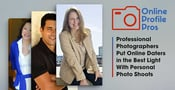 Online Profile Pros — Professional Photographers Put Online Daters in the Best Light With Personal Photo Shoots