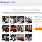 Law Enforcement Dating