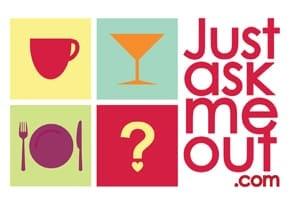 Photo of the JustAskMeOut logo