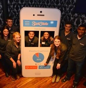 Photo of the SparkStarter team