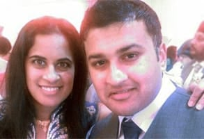 Photo of Dipa and Saumil, a couple who met through AsianD8