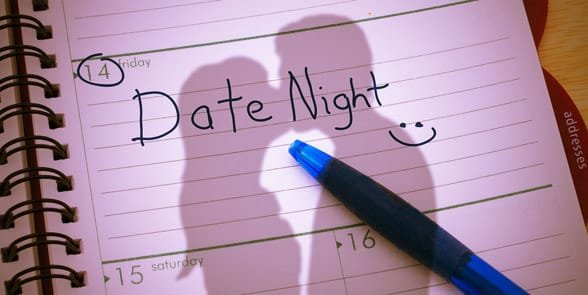 Photo of a date planner