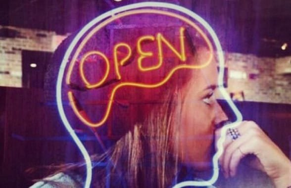 Photo of an open mind