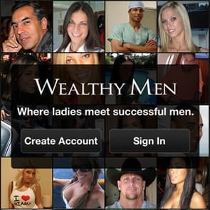 Photo of the WealthyMen app