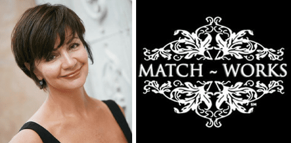 Sheree Morgan's headshot and the Match-Works logo