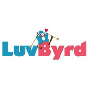 Photo of the LuvByrd logo